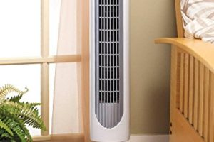 best Holmes 36 Inch Oscillating Tower Fan