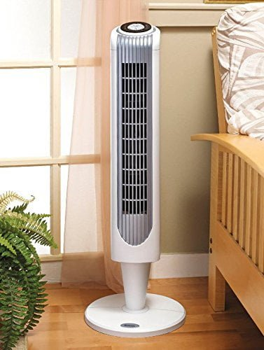 Holmes Oscillating Tower Fan with Quiet and Efficient Operation