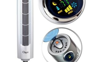 Ozeri Ultra 42 inch Wind tower Fan - Noise Reduction and Adjustable Oscillating