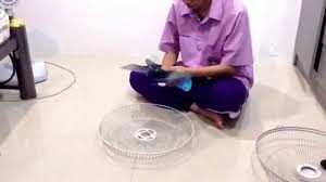 cleaning honeywell fan