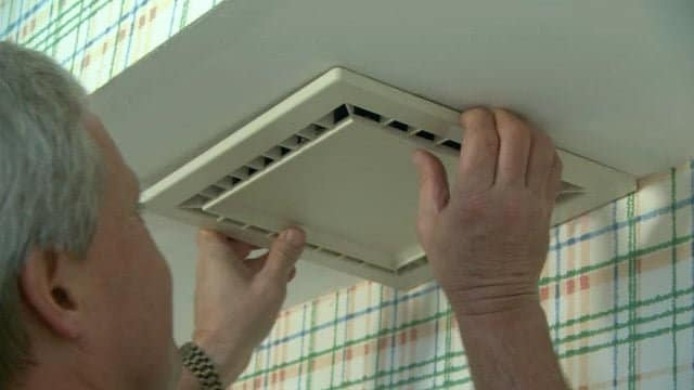 How to replace bathroom exhaust fan